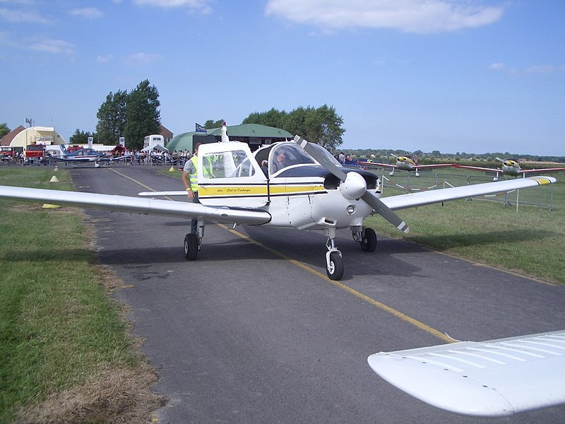 General picture of Dunkerque's flight meeting (August 2005)