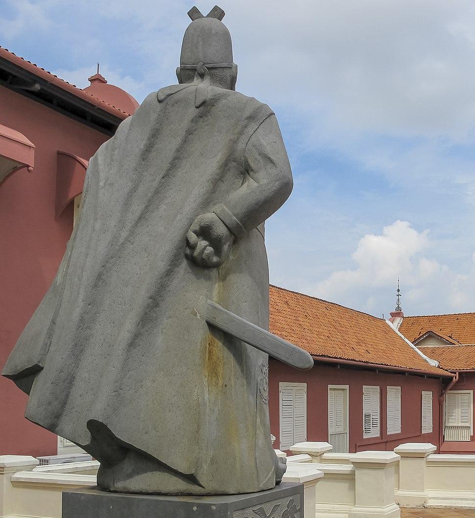 Melaka Malaysia Monument-of-Admiral-Zheng-He-01