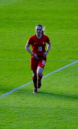 Melike Pekel - Melike Pekel playing for Turkey national team.