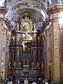 Melk Stift Melk Stiftskirche Innen Chor 4.JPG