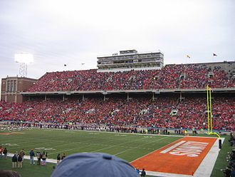 2002 Chicago Bears season - The Bears played their home games in 2002 at Memorial Stadium due to the rebuilding of Soldier Field
