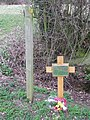 Memorial To A Q Site - geograph.org.uk - 1778706.jpg