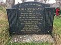 Memorial stone to Sir George Catlin and his wife Vera Brittain in Old Milverton Churchyard, Warwickshire.jpg