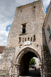 The Joan of Arc gate, in Mennetou-sur-Cher
