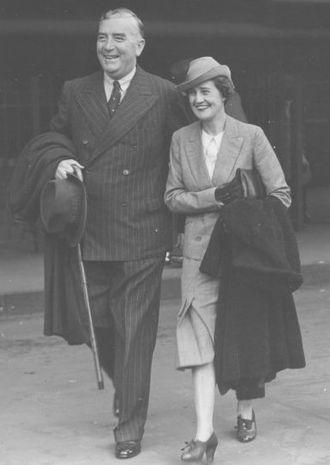 Pattie Menzies - Robert and Pattie Menzies in London in 1938