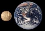 Merkür ile Dünya'nın boyutlarının karşılaştırılması