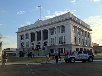 Meridian, Mississippi - Meridian City Hall after restoration efforts