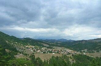 Mesolouri - View of Mesolouri
