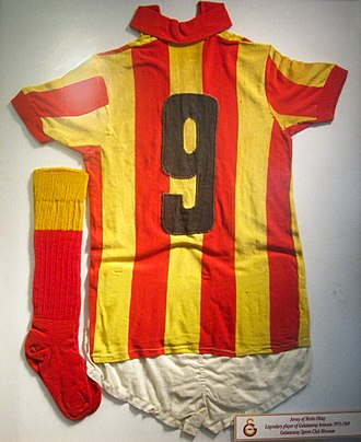 Metin Oktay - Jersey of Metin Oktay in the Galatasaray Museum