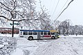 Metro Transit Bus in Winter Snow - Selby Avenue at Virginia Street, St. Paul (26610755328).jpg