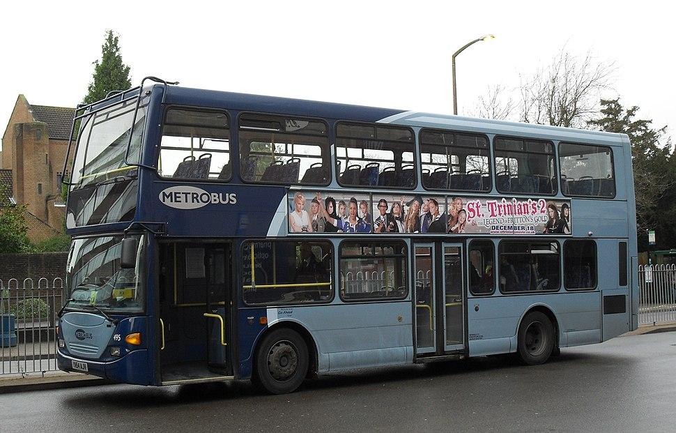 Metrobus in Crawley - YN54 AJV