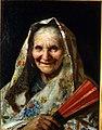 """Mezza figura di donna col pezzotto o """"Minolla sampierdarenese"""" di Barabino Nicolò.jpg"""