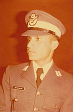 A Pakistan Air Force service uniform, 1974.
