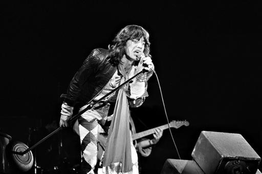Mick Jagger in Den Haag (1976)