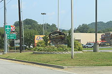 Middlesboro kentucky welcome sign