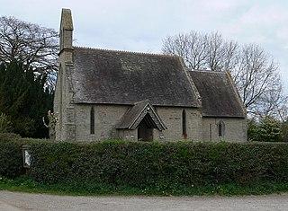 Middleton Scriven Village in Shropshire, England
