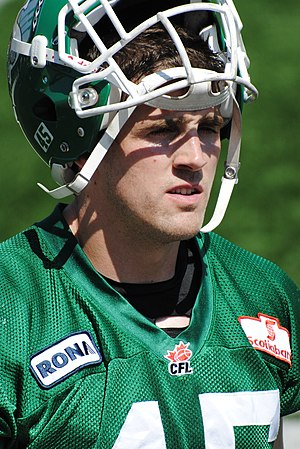 Mike McCullough (Canadian football) - Mike McCullough in 2010