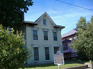 Michael C. Kerr - Kerr's home in New Albany, Indiana