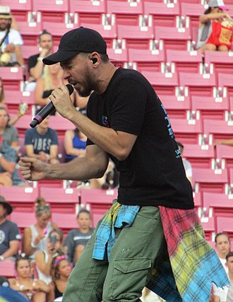 Fort Minor - Mike Shinoda, the frontman of Fort Minor, performing live at LoveLoud in 2018