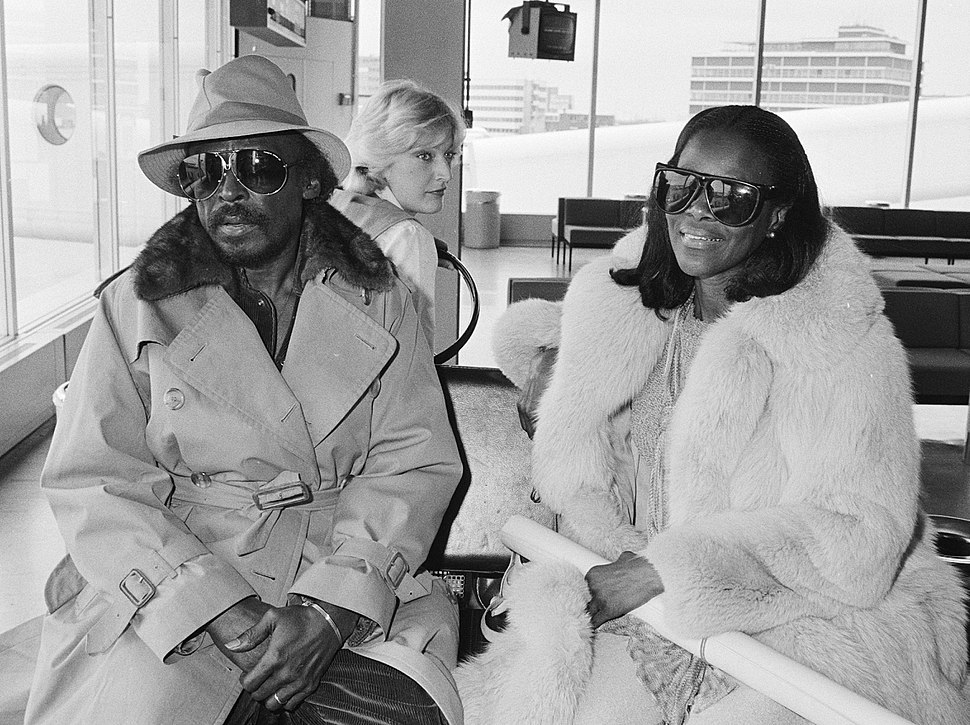Miles Davis and Cicely Tyson 1982