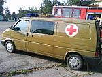 Militaire ambulance Volkswagen Transporter T4.JPG