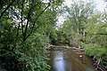 Mill Creek Viewed from Bridge on Marshall Road Scio Township Michigan.JPG