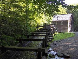 Mountains-to-Sea Trail - Image: Mingus mill 1
