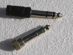 Mini jack to jack converter
