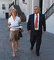 Ministro Secretario General de Gobierno,Andrés Chadwick Piñera junto a la Ministra del Trabajo y Previsión Social, Evelyn Matthei (3).jpg