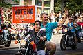 Minneapolis Mayor RT Rybak at Twin Cities Pride Vote No Sign 7435018066 o.jpg