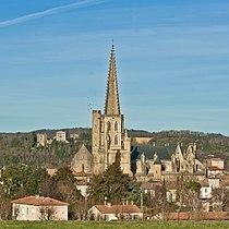Mirepoix - Cathédrale et château de Terride.jpg