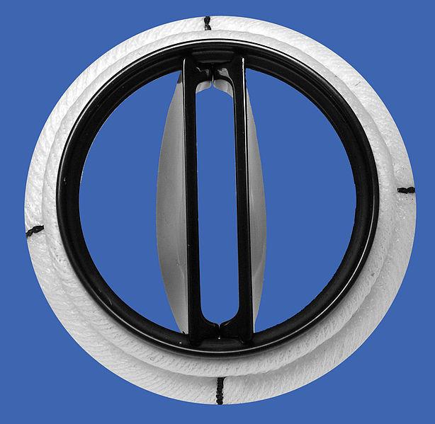 File:Mitral Karboniks-1 bileafter prosthetic heart valve.jpg