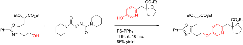 Mitsunobu reaction Application