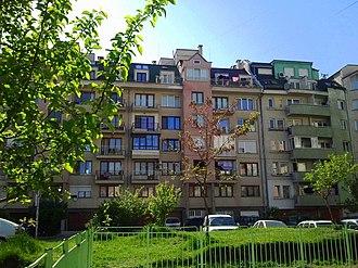 Mladost, Sofia - Image: Mladost 4 blok