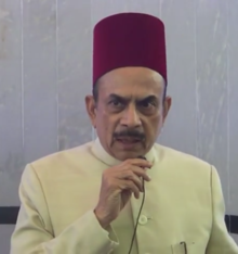 Mohammad Ali, Indian Politician And Deputy Chief Minister Of Telangana  State Wearing Fez