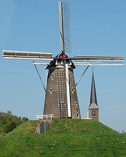 De Prins van Oranje, Bredevoort Dutch windmill