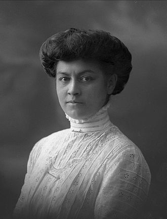 Molla Mallory - Molla Bjurstedt Mallory in 1909