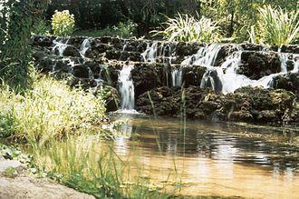 Piedra (Spain) - The Piedra flowing through the Monasterio de Piedra area