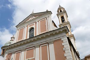 Moneglia - The church of Santa Croce