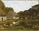 Monet - Cour de ferme en Normandie, 1863.jpg