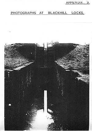 Blackhill, Glasgow - Blackhill Locks on the Monkland Canal