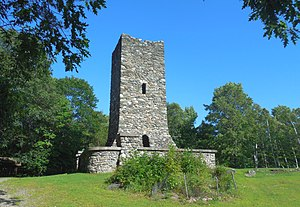 Hubbard Park (Montpelier, Vermont) - Image: Montpelier VT Hubbard Park Tower 3 20170813 (36546421856)