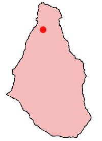 Brades på Montserrat-kortet