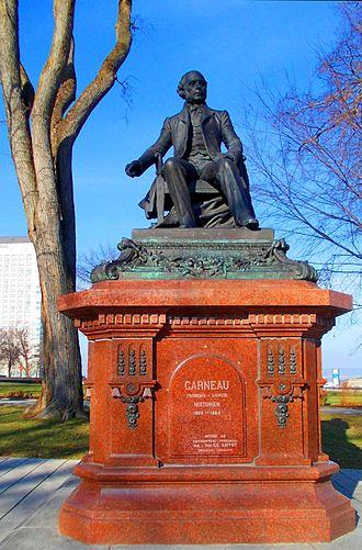 François-Xavier Garneau - Monument of François-Xavier Garneau in Québec City
