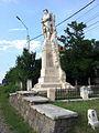 Monumentul Eroilor căzuţi în primul război mondial din Tâncăbești - perspectivă sud.JPG