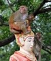 Monywa-Hpo Win Daung-42-Statue mit Affen-gje.jpg