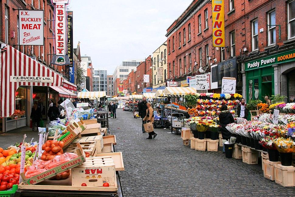 Moore Street market, Dublin