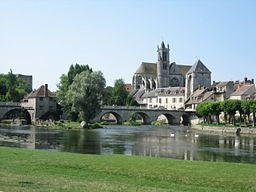 The Loing in Moret-sur-Loing
