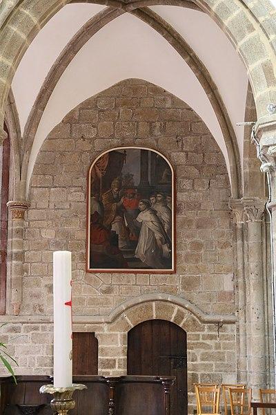 Collégiale Saint-Évroult de Mortain.