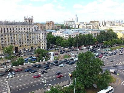 Как доехать до Ленинградский Проспект на общественном транспорте